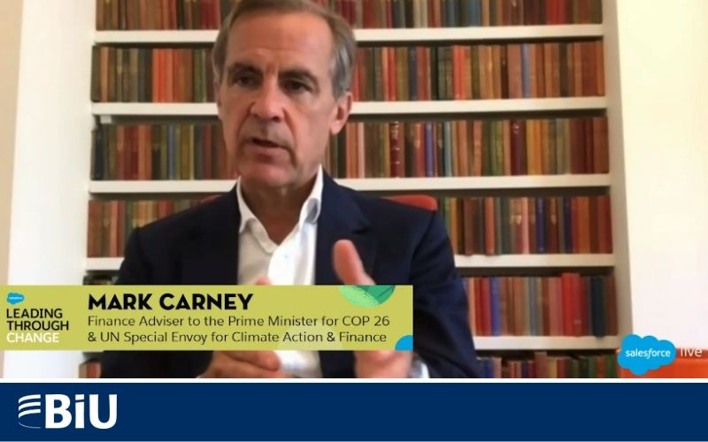 Mark Carney takes the temperature of our changing world